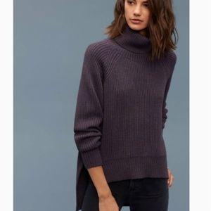 ⬇️Artizia Wilfred Free Lin Dark Purple Sweater